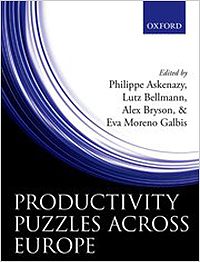 "Buchcover ""Productivity Puzzles Across Europe"""