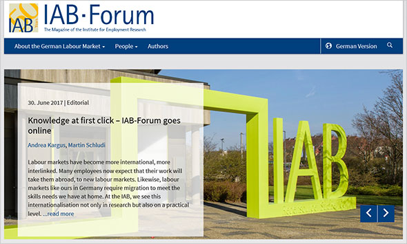 Screenshot IAB-Forum Online