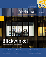 Cover IAB-Forum 1/2013: Blickwinkel