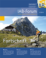 Cover of IAB Forum 1/2014