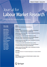 Titelblatt Journal for Labour Market Research